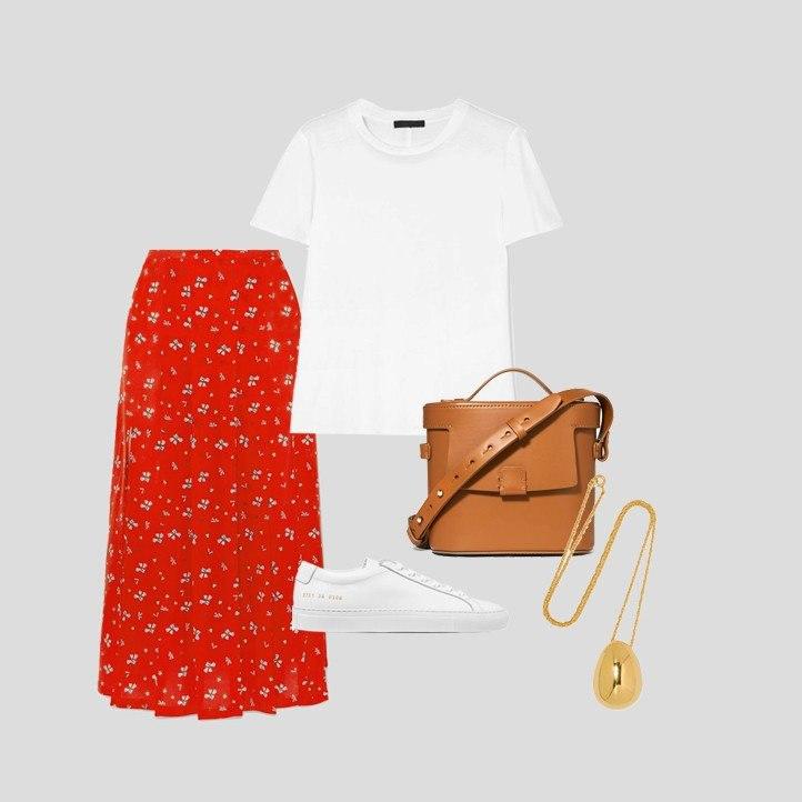 Весна-красна: 5 вещей красного цвета в повседневных образах