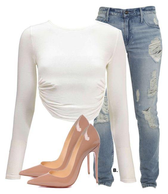 Операция — комбинация: 8 способов носить туфли-лодочки и джинсы
