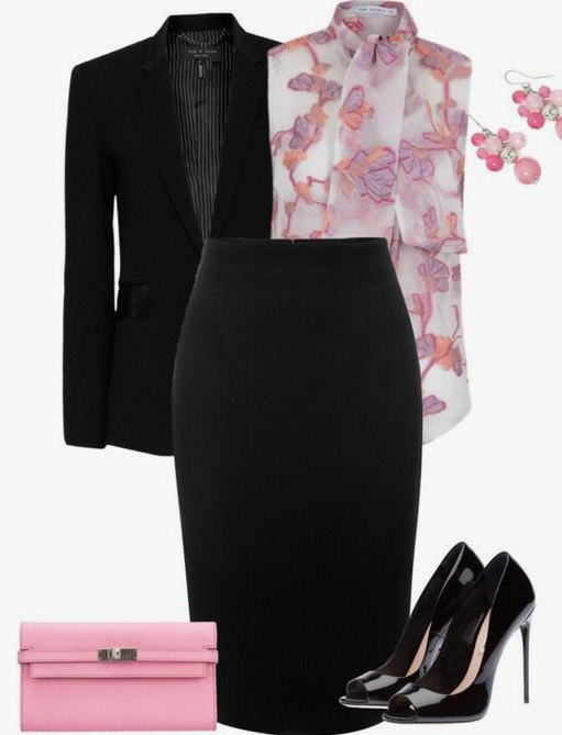 С чем носить прямую юбку-миди: 7 женственных сетов на весну