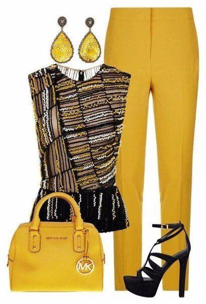 Покажи свой интеллект: 11 стильных образов с желтым цветом