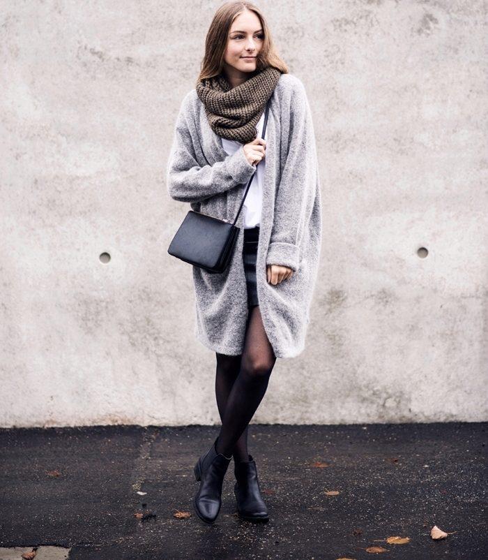 Стильный подход: 10 идей для образов с шарфом