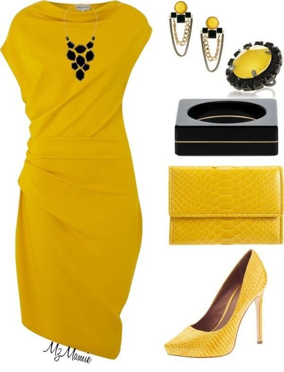 Солнечный желтый: 10 идей для яркого образа