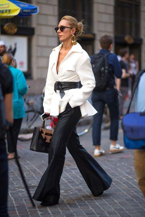 Тренд, перед которым не устоять: 7 способов носить пиджак с поясом