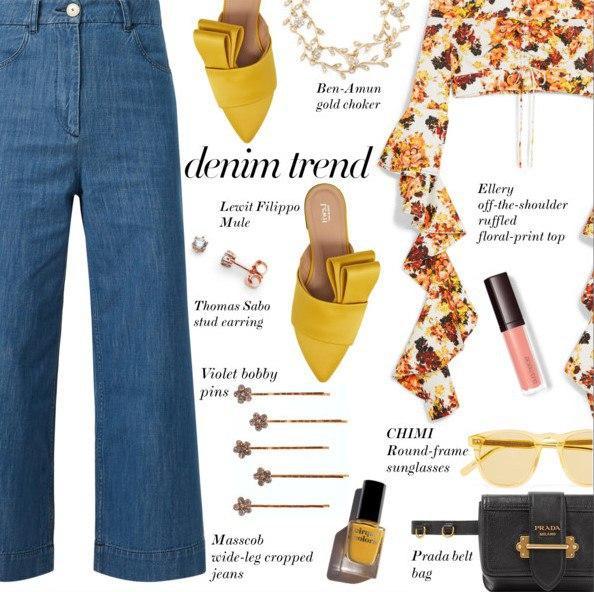 Назад в будущее: 6 образов с широкими джинсами