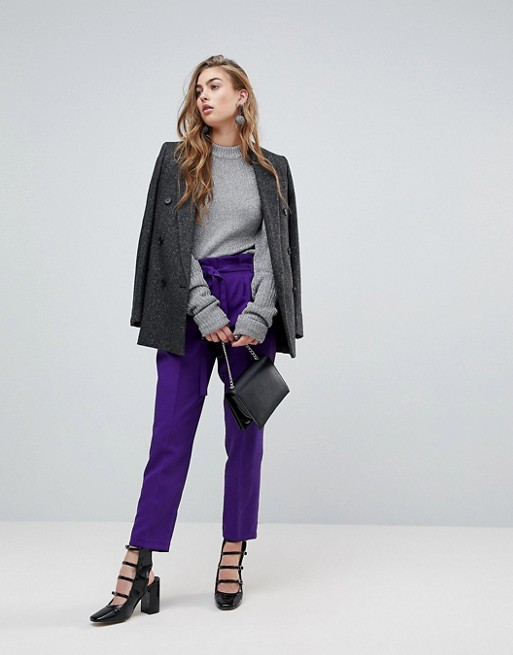 С чем носить фиолетовый: 6 вещей, которые должны быть в вашем гардеробе