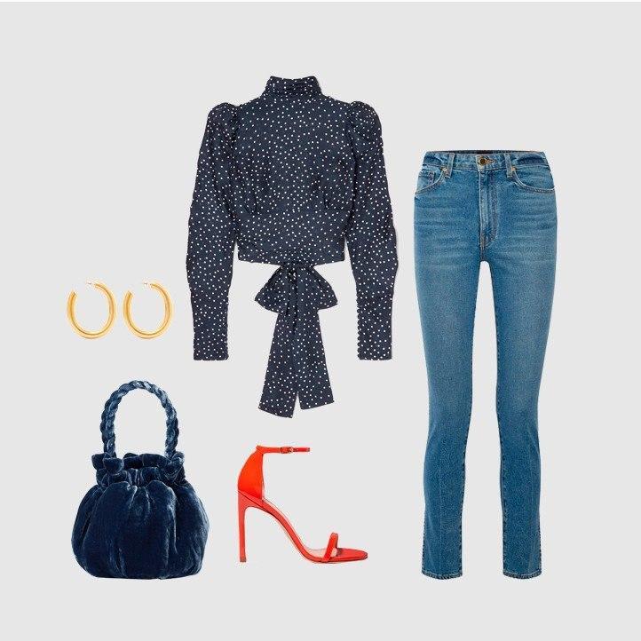 На модной волне: 5 способов носить джинсы и не выглядеть как все