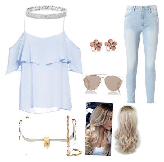 Небесно-голубой — модный цвет сезона: 5 идей, как создать нежный образ