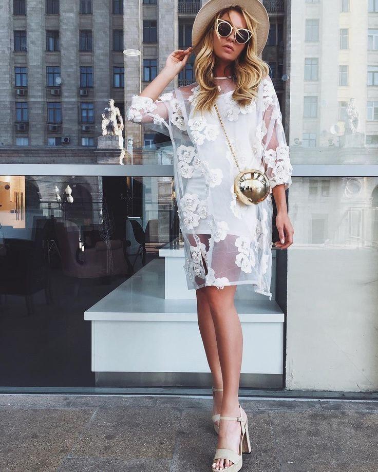 Прозрачный намек: 7 платьев, в которых вы не останетесь без внимания