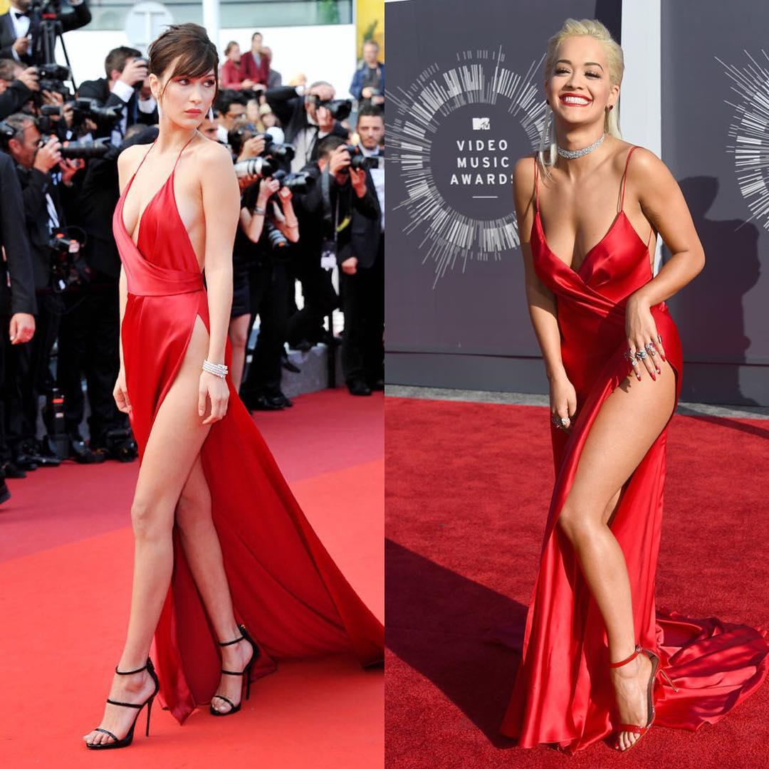 А что под платьем? 7 звезд с самым скандальным разрезом на красной дорожке