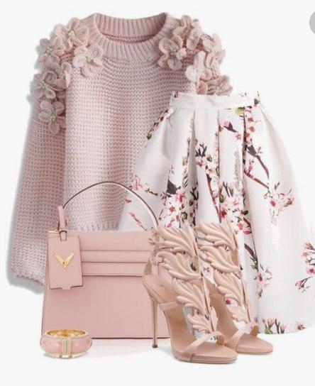 Пышная, романтичная и очень весенняя — 6 идей, как носить юбку-миди этим сезоном