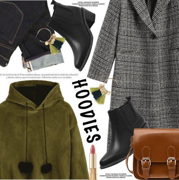 Как носить худи этой весной: 6 стильных образов в уличном стиле