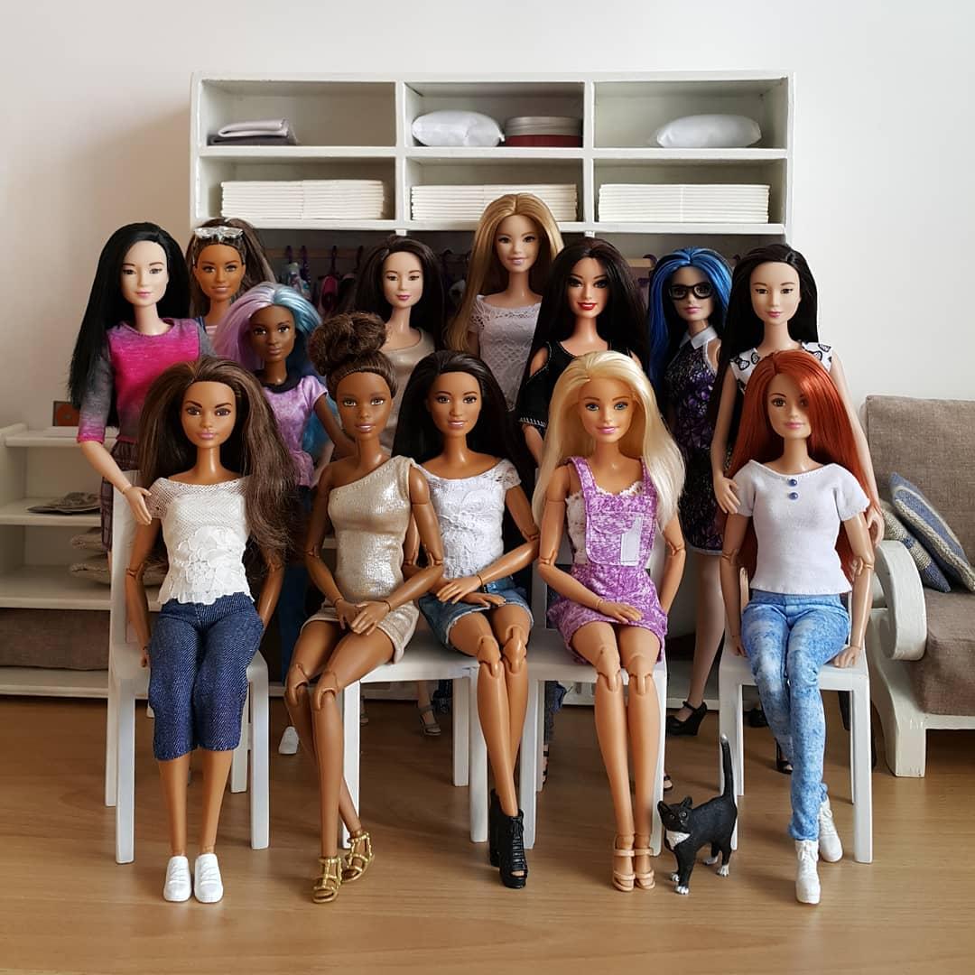 Эти новые 14 кукол Barbie изменят историю и зададут новые стандарты красоты