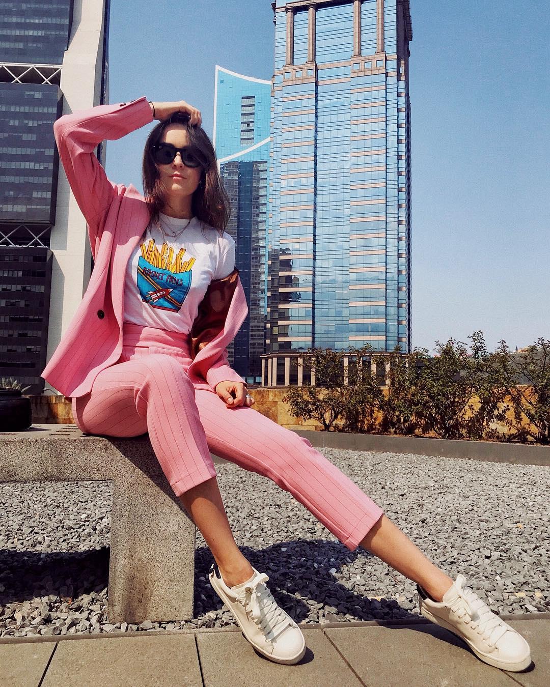 13 шикарных идей, как носить розовый и оставаться стильной