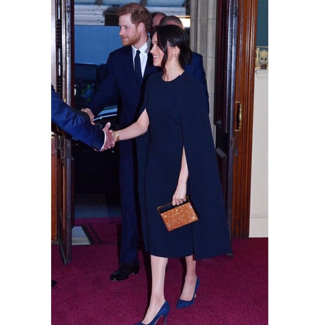 Меган Маркл блеснула в платье за 1000 фунтов на Дне рождения Елизаветы II