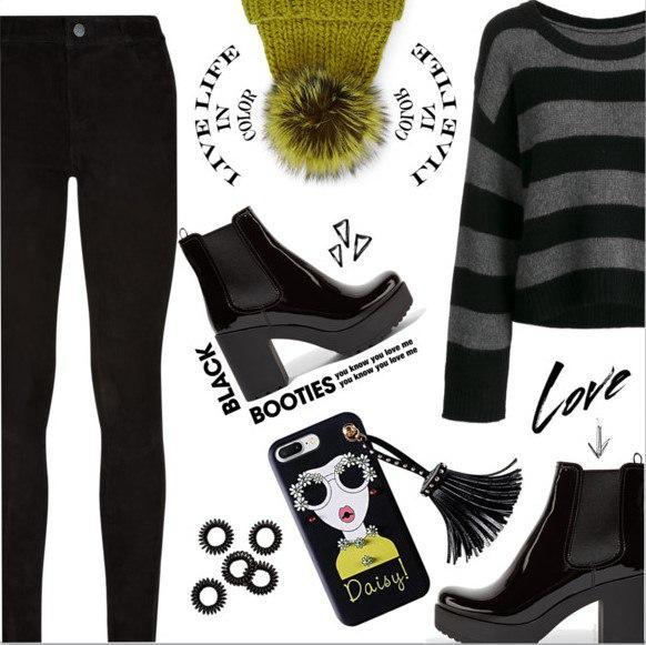 Как носить черные ботинки этой весной: 6 стильных идей