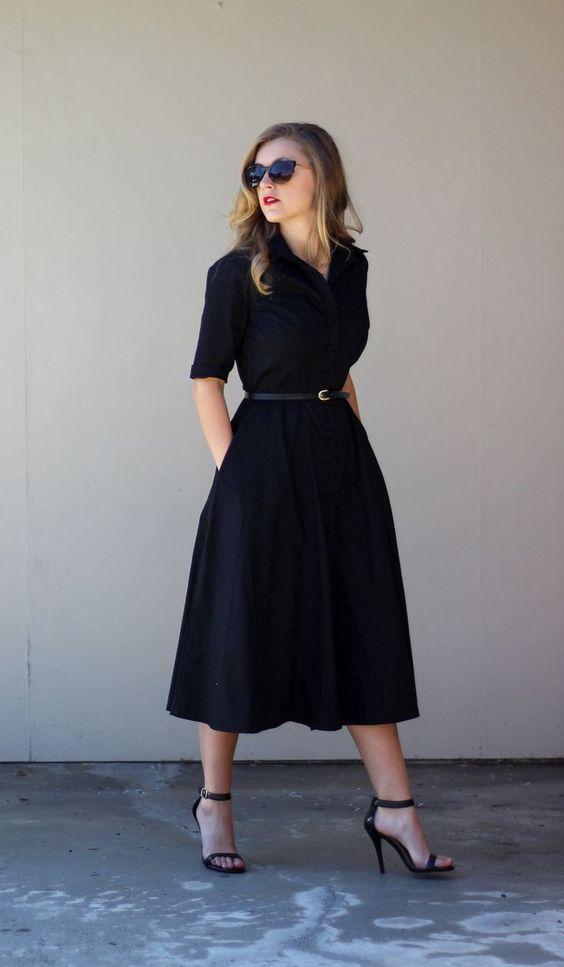 С чем носить платье-рубашку в пол: 10 идей для самых-самых