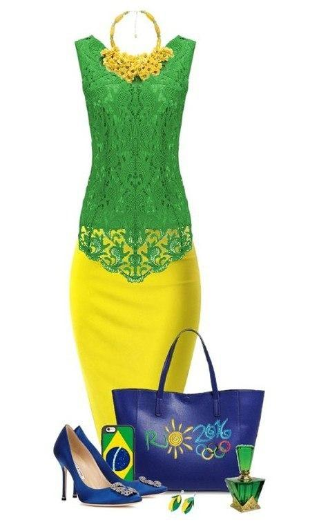 Желтый + Зеленый: 6 ярких и сочных идей, как встретить лето