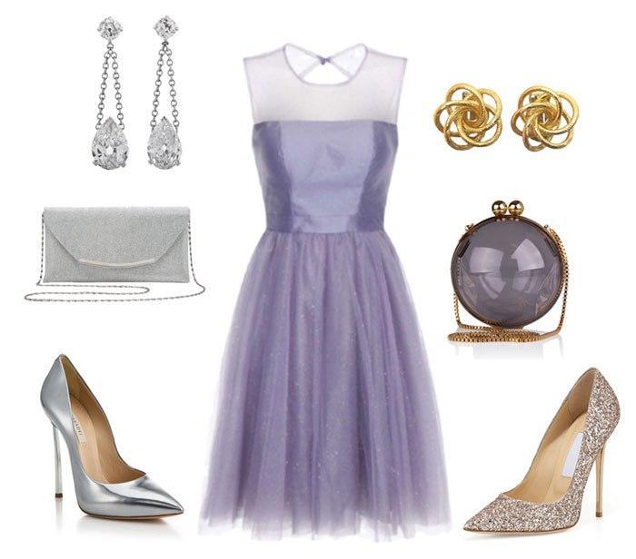 В оттенке сирени: 6 шикарных способов носить платья цвета ультрафиолет