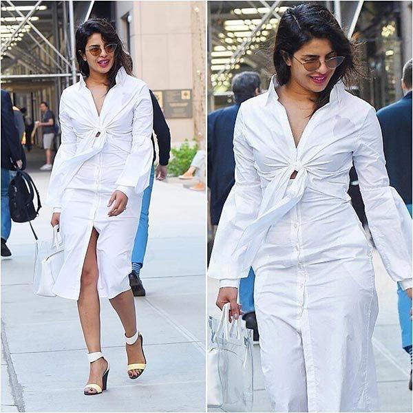 Кристина Агилера показала все свои формы в белоснежном костюме. Вот так и создаются тренды!