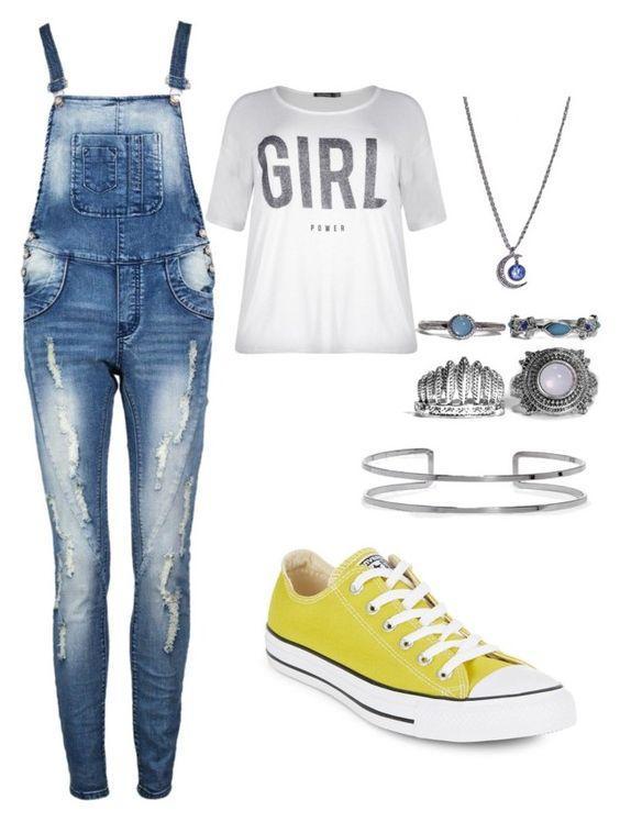 Как носить джинсовый комбинезон: 8 стильных образов с самой комфортной одеждой
