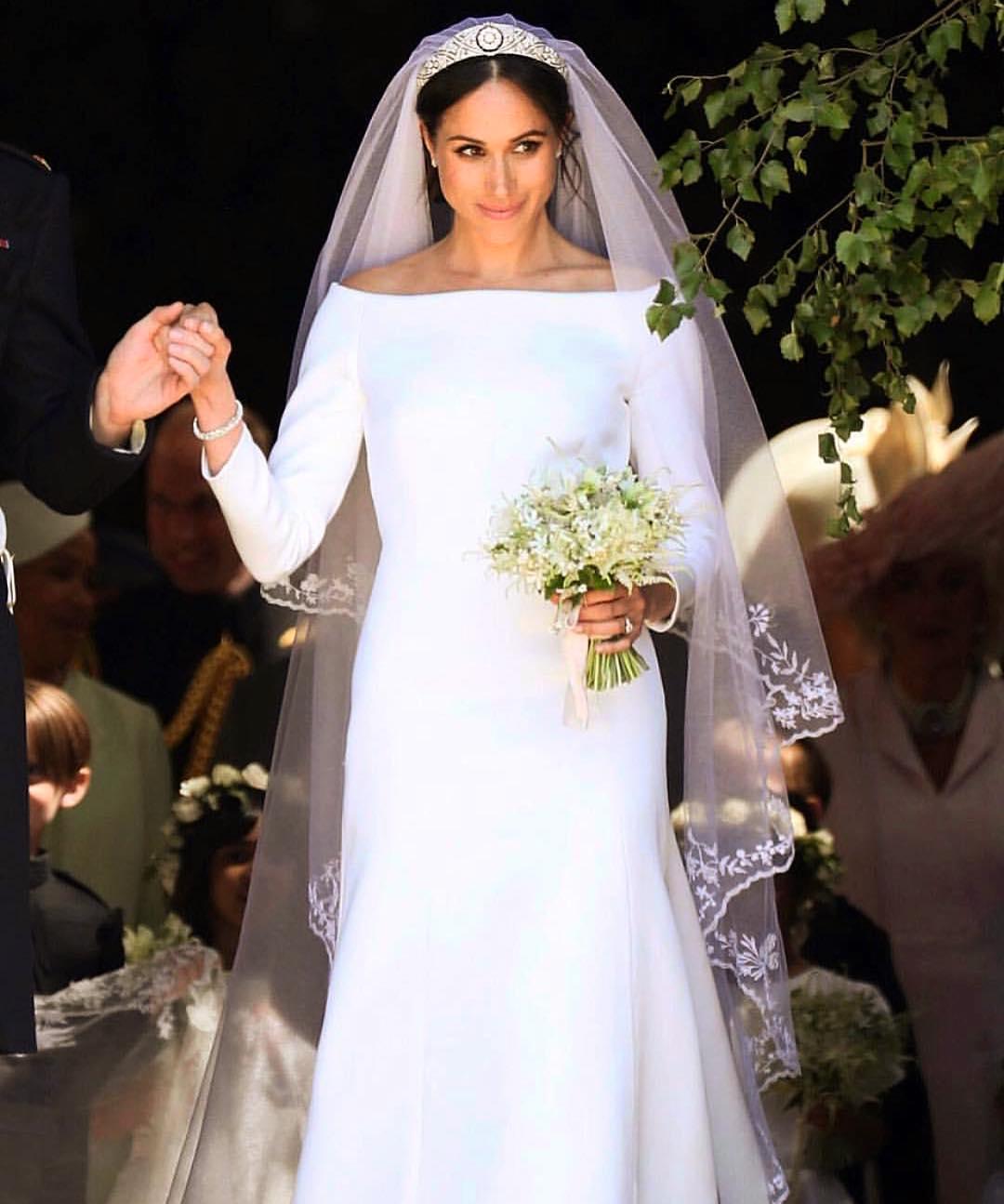 Оно великолепно! Вот почему свадебное платье Меган Маркл будут обсуждать еще пол века