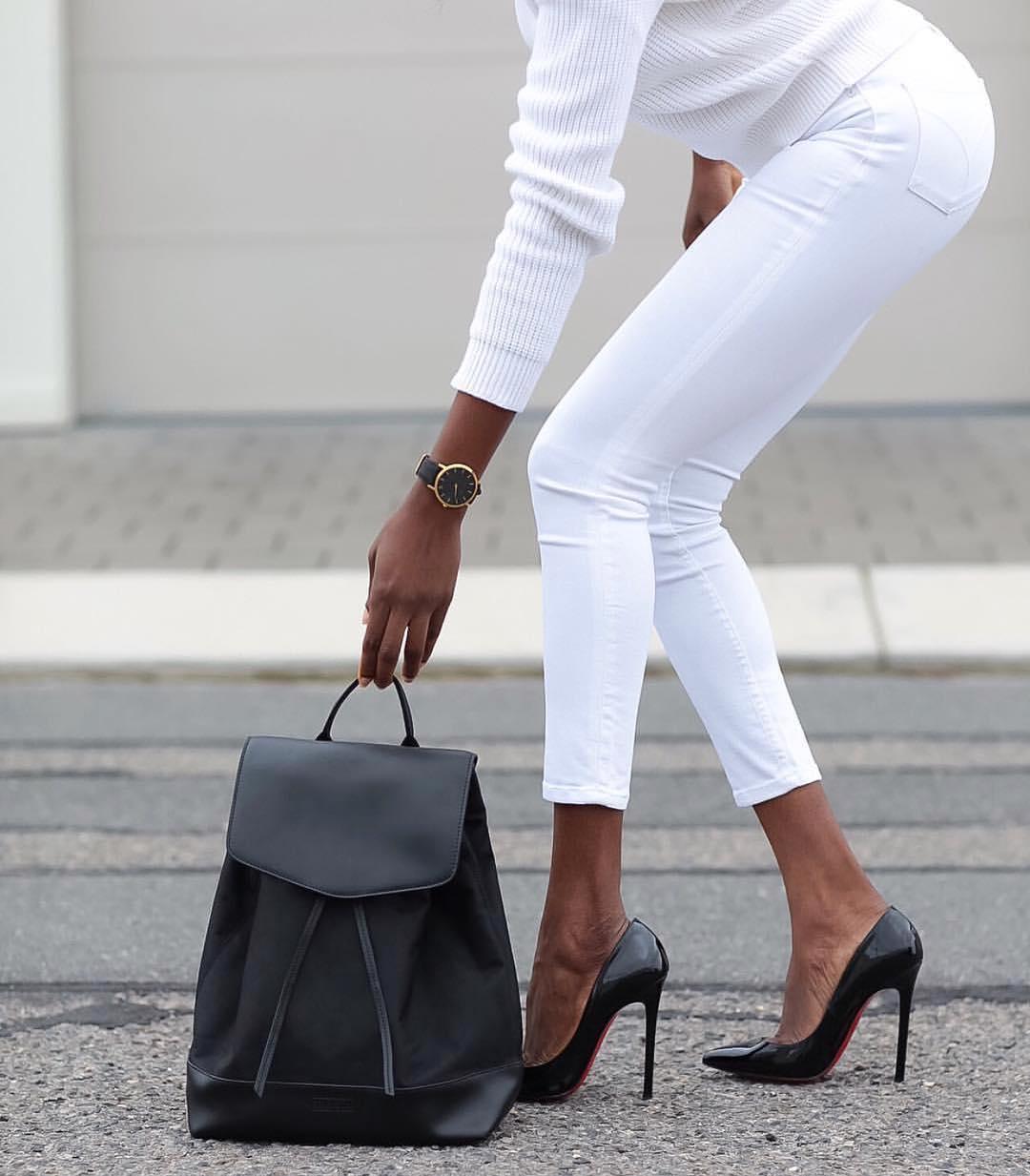 К лету — во всеоружии: 16 сногсшибательных образов с белыми брюками