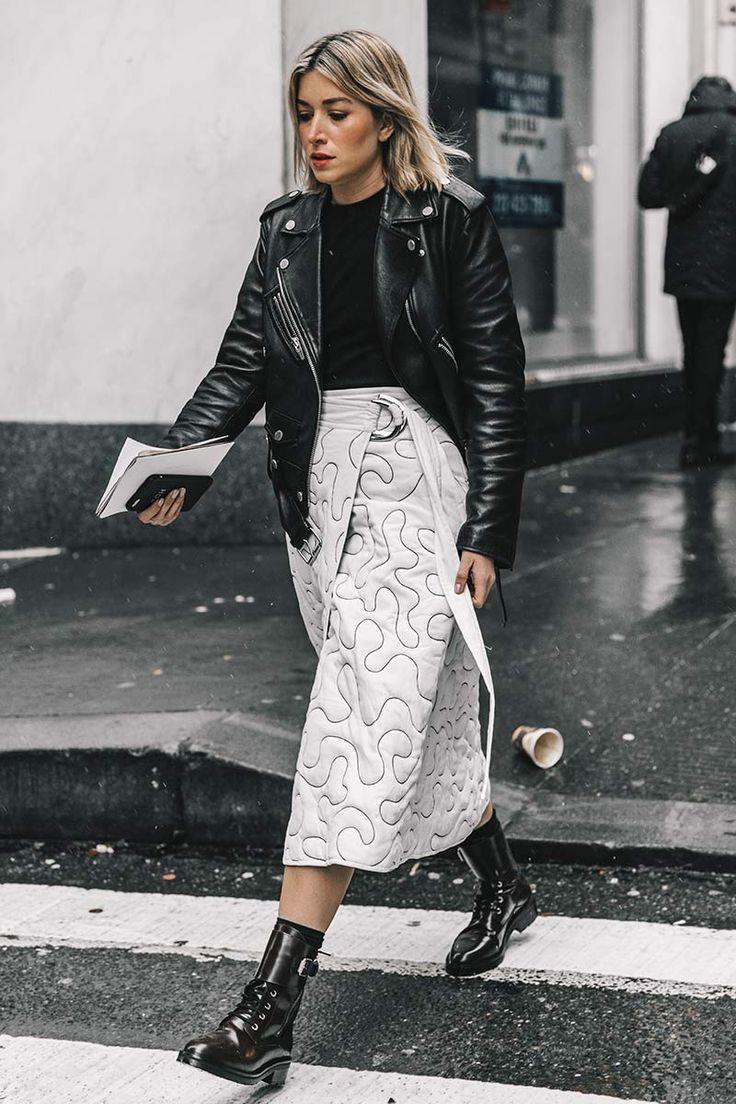 Белая юбка — залог успеха: 5 сногсшибательных образов на любой вкус