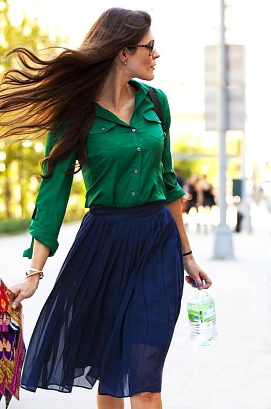 Носи, не снимая: 5 ультра-модных сочетаний с изумрудным цветом