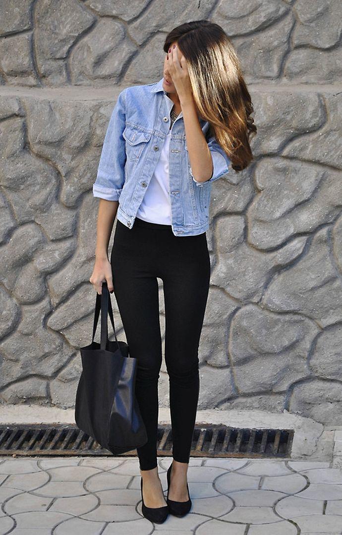 Здравствуй, джинса: 15 стильных примеров, что джинсовка просто незаменима летом