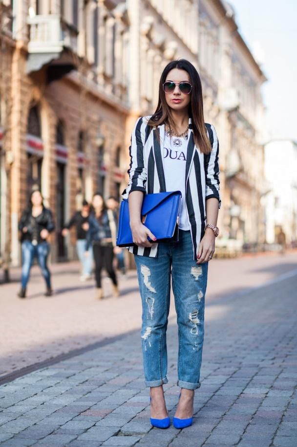 10 идей, как сочетать джинсы с жакетом, чтобы все восхищались