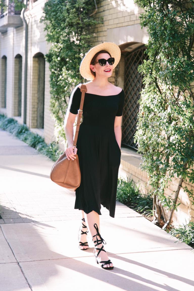 15 примеров того, что черное платье летом носить можно и даже нужно