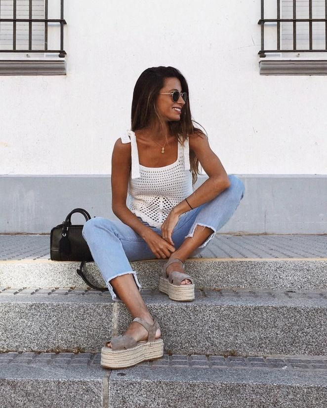 Как носит тренды этого лета модница María Valdés: 25 стильных примеров
