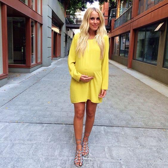 12 романтичных образов для беременных, которые подчеркнут красоту женского тела