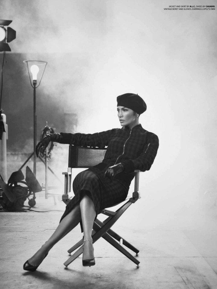 Джей Ло доказала, что может быть абсолютно разной в новой съемке Emmy Magazine