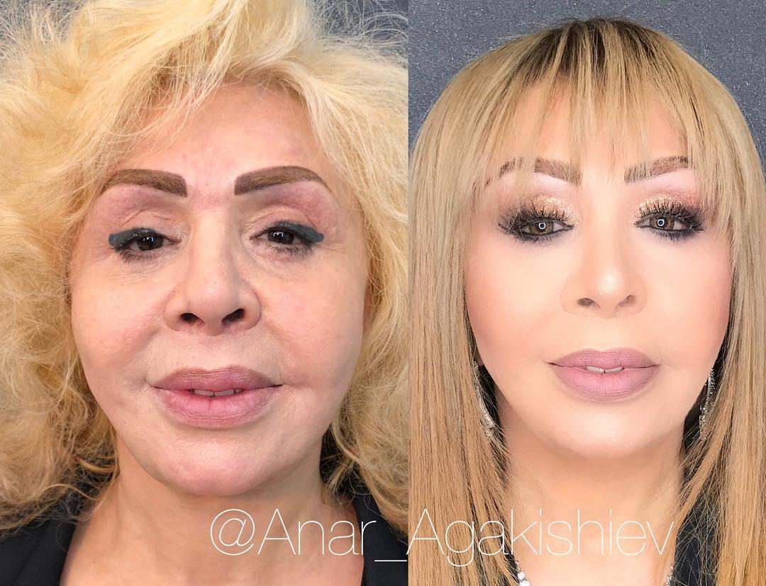 Как макияж меняет внешность: 15 удивительных работ визажиста Анара Агакишиева