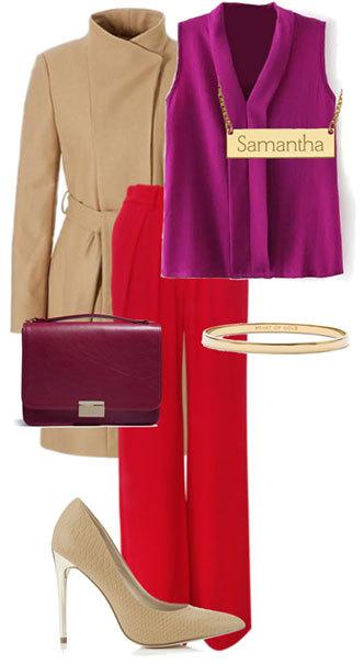 Красный + фиолетовый: 10 необычных идей, которые смотрятся очень удачно