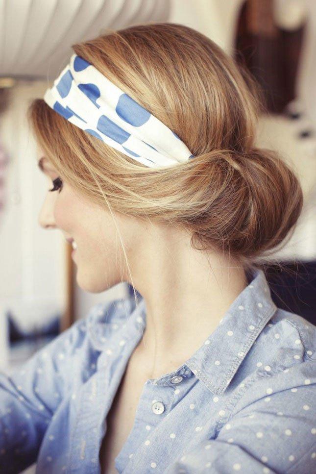 Так платок вы еще не носили: 8 красивых причесок для лета с одним простым акссесуаром