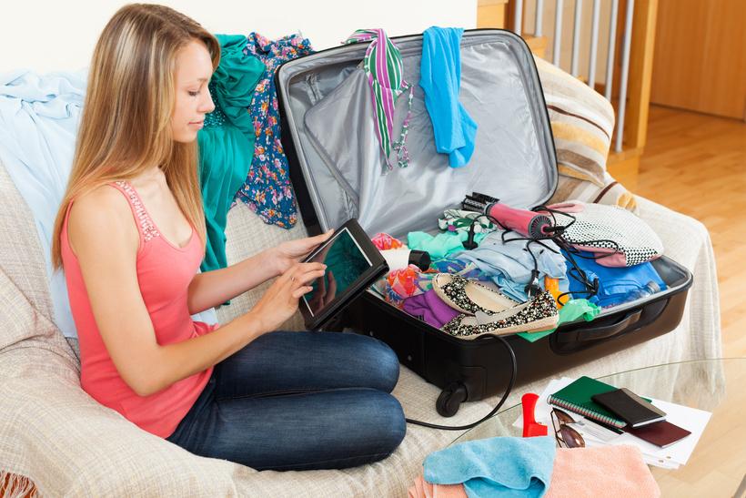 10 трюков, как уложить в чемодан всю квартиру и взять все необходимое