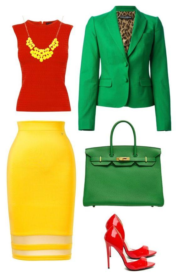 Эти 8 образов в сочном зеленом цвете сделают вас незабываемой
