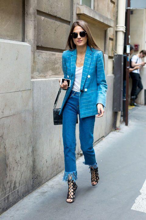 Деним + рубашка: 10 крутых идей, как одеться летом просто и стильно