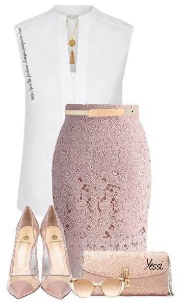 Сказочная юбка-карандаш: 10 образов, чтобы получить повышение на работе