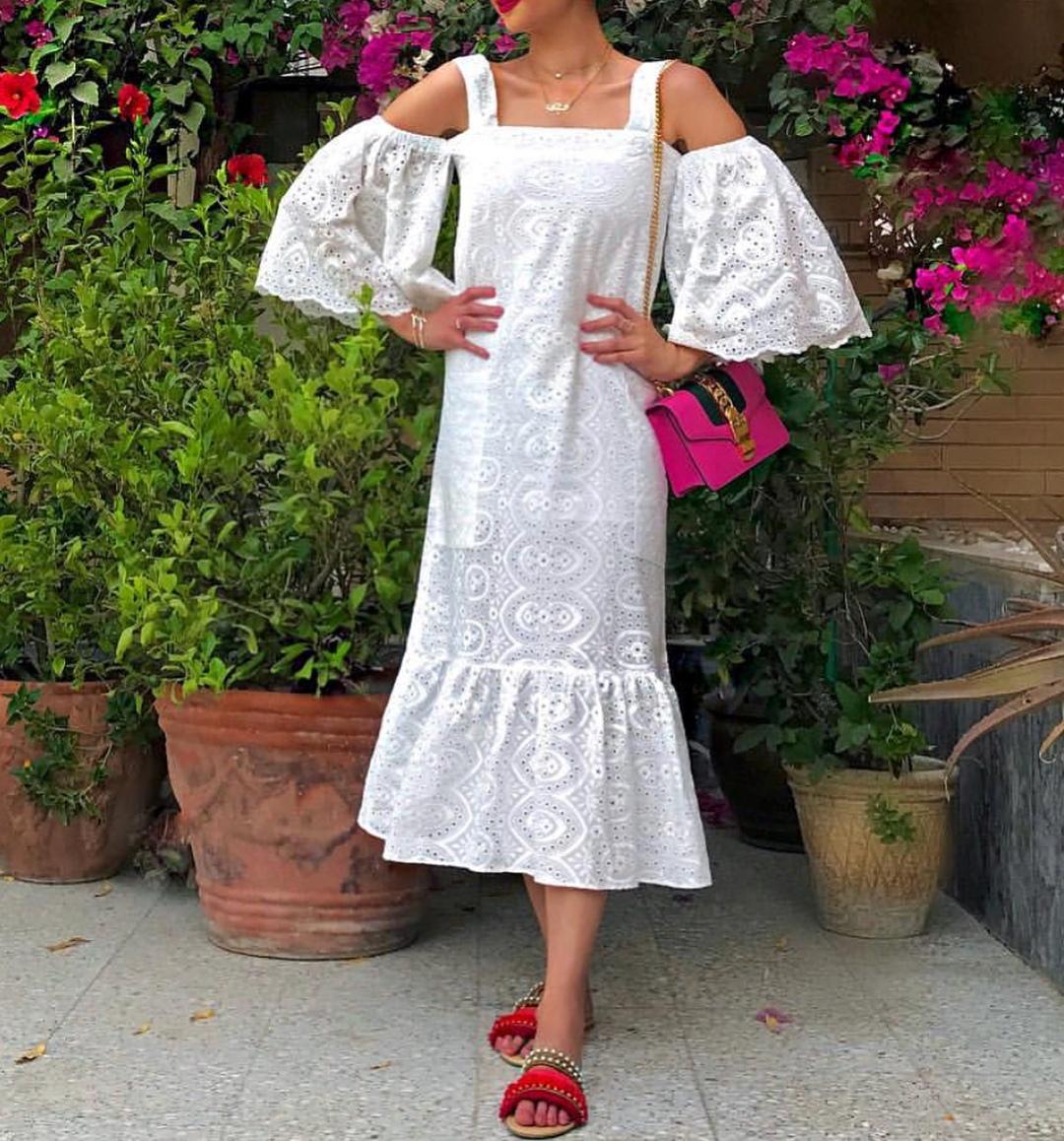Ода белому: 12 способов носить белое платье и выглядеть как принцесса