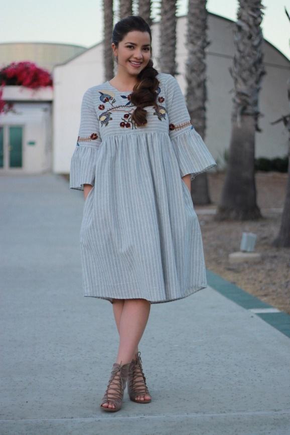 12 платьев в стиле бохо, в которых вы будете еще более женственной и эффектной