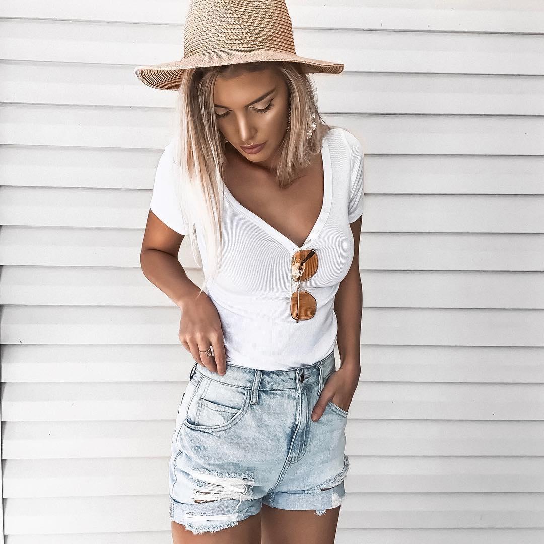 Одевайся как модный блогер: 10 ярких образов от шикарной Kelsey Floyd
