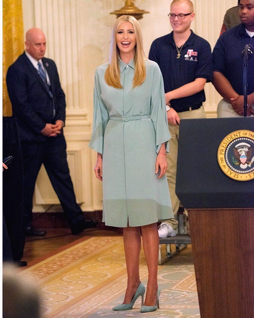Новый образ Иванки Трамп мгновенно покорил всех женщин Америки (и не только)