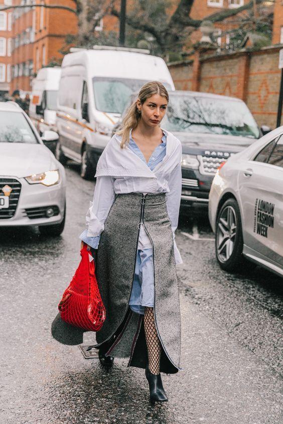 Необычно, но стильно: 13 стильных идей, как носить юбку с платьем и быть в тренде