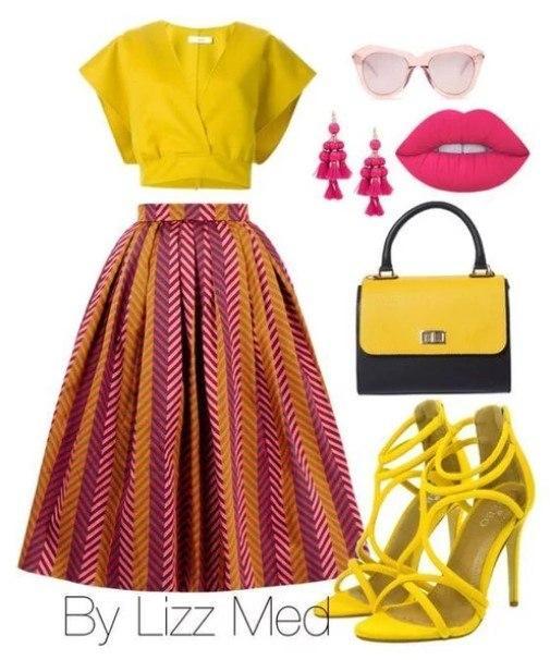 Акцент — на желтый: 6 ярких образов, которые точно поднимут ваше настроение
