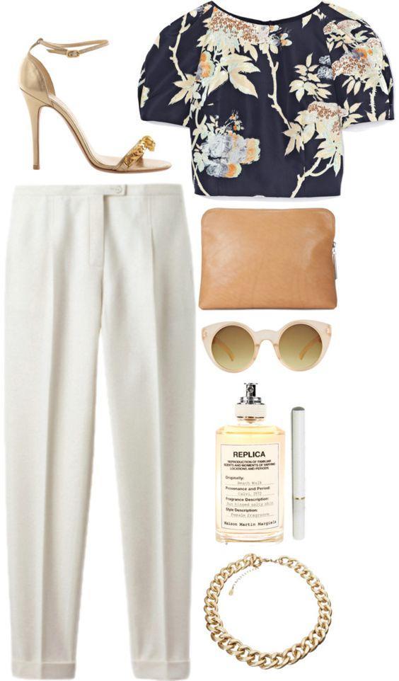 8 идей, с чем носить зауженные брюки летом и выглядеть женственно