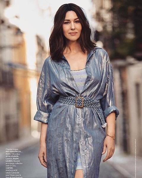 53-летняя Моника Белуччи заставила всех обратить на себя внимание: 8 самых эффектных образов журнала Elle