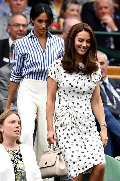 Как одеваются Кейт Миддлтон и Меган Маркл, когда их принцев нет рядом